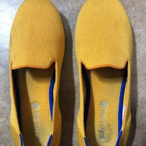 Rothy's lemon drop kids loafers K4